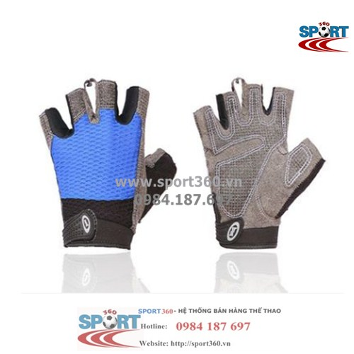 Găng tay tập Gym cao cấp SP01 xanh