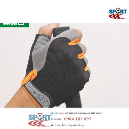 Găng tay tập Gym SP03 màu cam