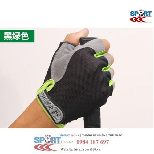 Găng tay tập Gym SP03 màu xanh