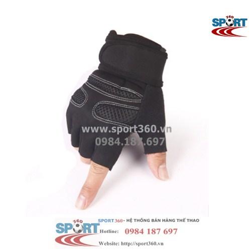 Găng tay tập Gym SP08 màu đen