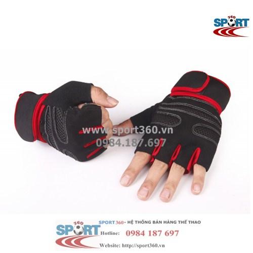 Găng tay tập Gym SP08 màu đỏ