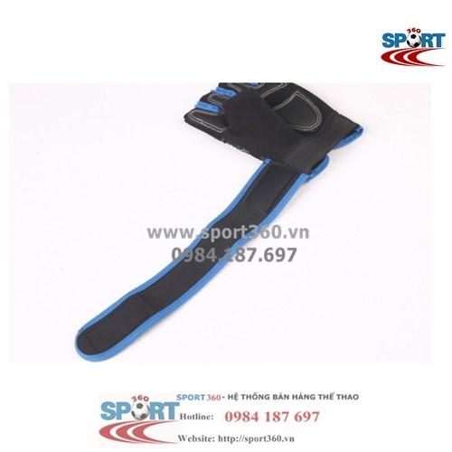 Găng tay tập Gym SP08 có phần quấn cổ tay dài