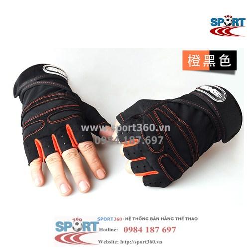 Găng tay tập Gym SP11 màu cam