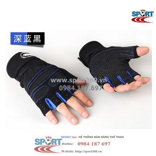 Găng tay tập Gym SP11 màu xanh đậm