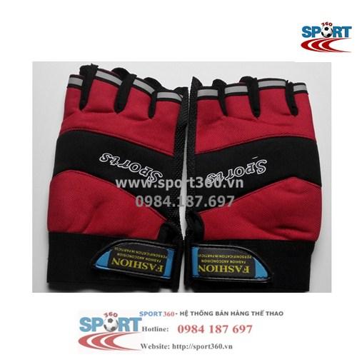 Găng tay tập Gym SP18 sport giá rẻ màu đỏ