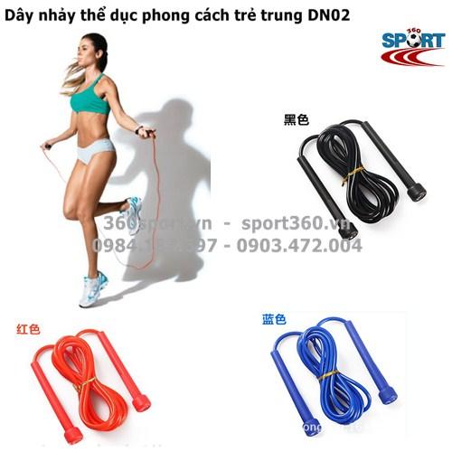 Dây nhảy thể dục phong cách trẻ trung DN02