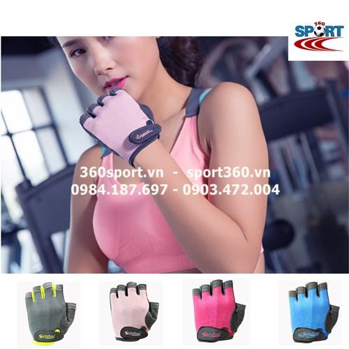Găng tay tập Gym nữ cao cấp SP19 màu hồng
