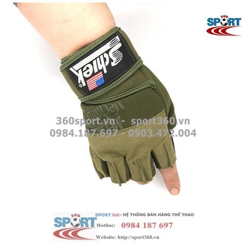 Găng tay tập Gym SCHIEK giá rẻ SP12 màu xanh