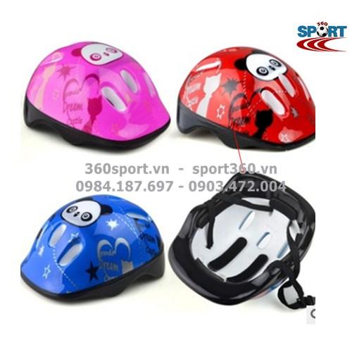 Mũ bảo hiểm cho bé chơi thể thao