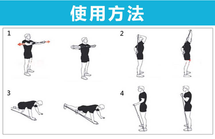 Các bài tập với Dây kéo đàn hồi hình số 8 tập thể lực