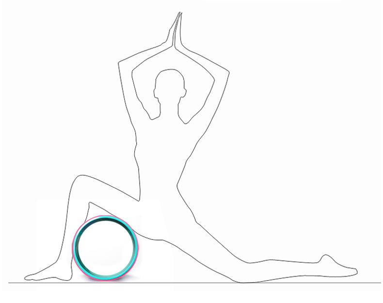 Bài tập Vòng lăn Yoga Wheel Cao Cấp