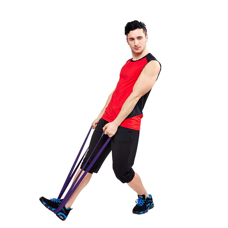 Các bài tập với dây đàn hồi tập thể lực