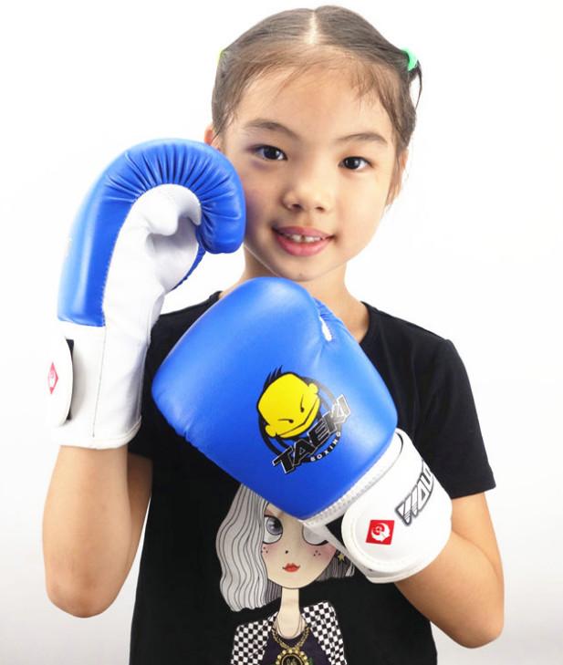 Găng boxing trẻ em Taeki cao cấp