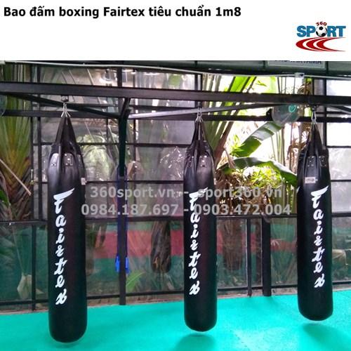 Bao đấm boxing Fairtex tiêu chuẩn 1m8 chuyên dùng phòng tập