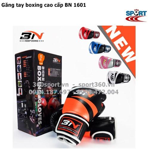 Găng tay boxing cao cấp BN 1601