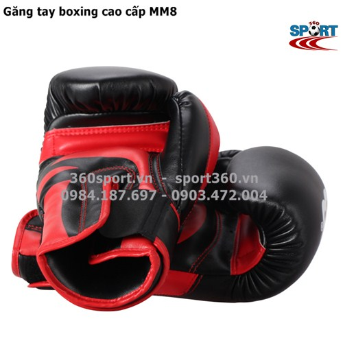Găng tay đấm boxing cao cấp MM8