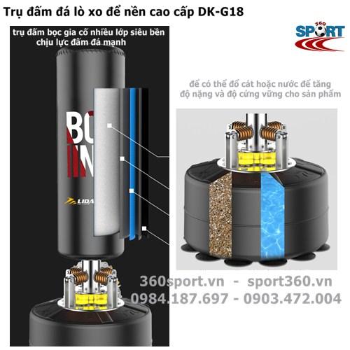 Trụ đấm đá lò xo để nền cao cấp DK-G18