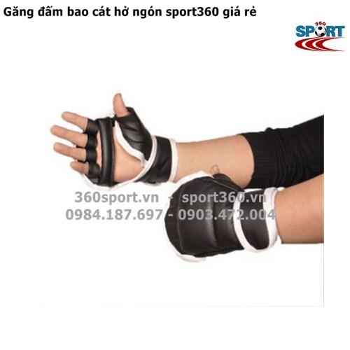Găng đấm bao cát hở ngón sport360 giá rẻ