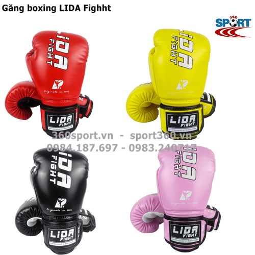Găng boxing cao cấp LIDA Fighht