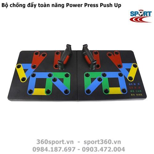 Bộ chống đẩy toàn năng Power Press Push Up