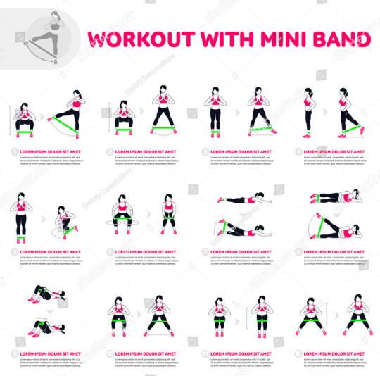 25 bài tập toàn thân với dây đàn hồi mini band