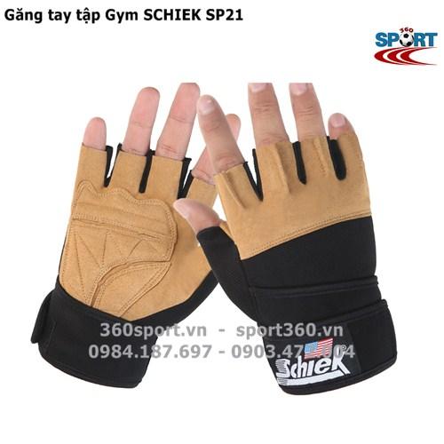 Găng tay tập Gym SCHIEK SP21 màu vàng da bò