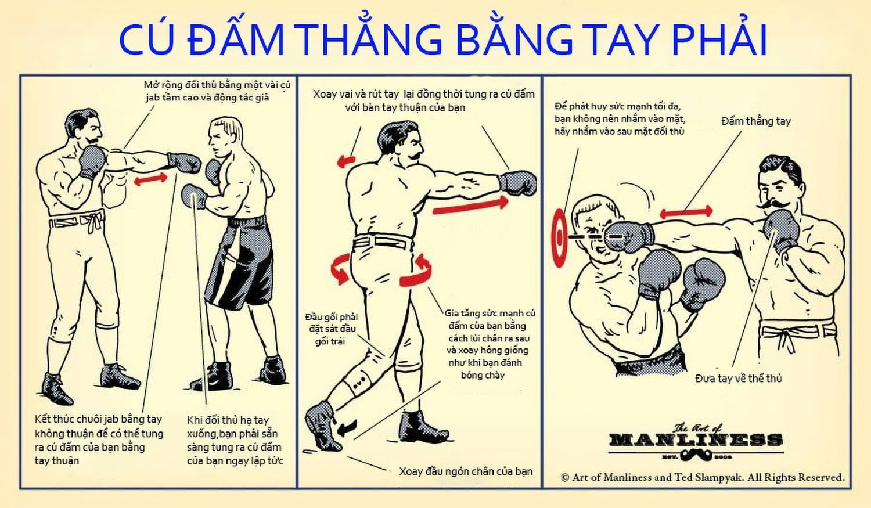 Kỹ thuật boxing cho người mới tập