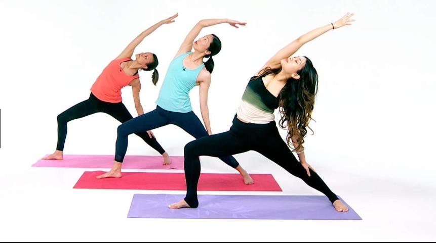 Tập yoga không khó