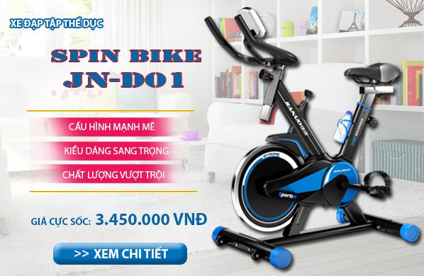 Khuyến mại lớn khi mua xe đạp tập thể dục JN-D01