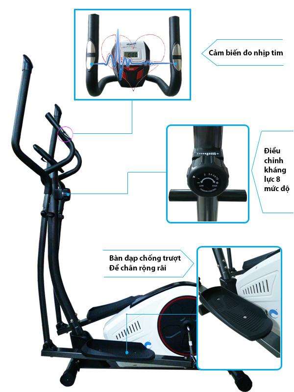 Xe đạp tập thể dục DLY-CT2612