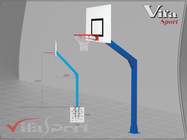 Trụ bóng rổ cố định 802890