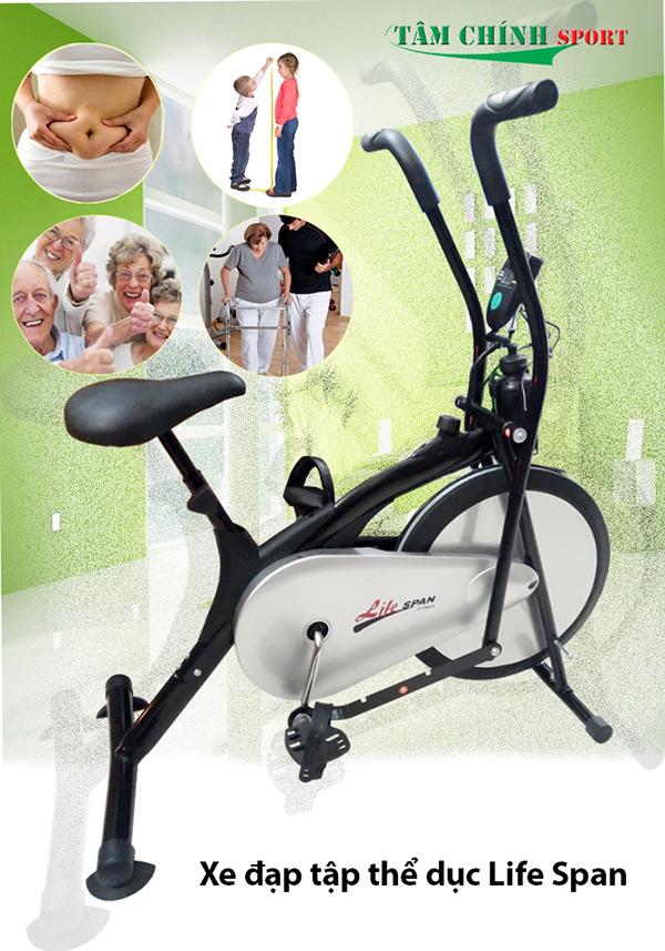Xe đạp tập thể dục toàn thân Life Span