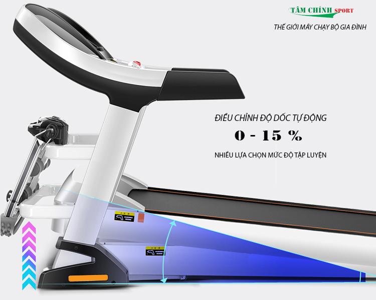 Máy chạy bộ điện cao cấp HQ-9600