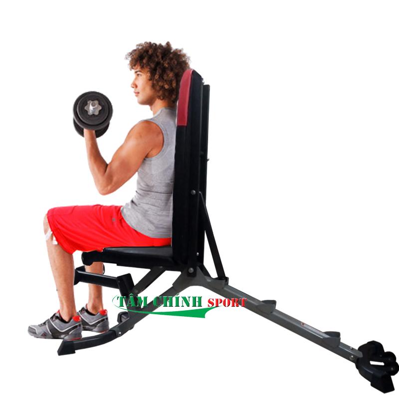 Tập tay với ghế tập tạ tay Bowplex