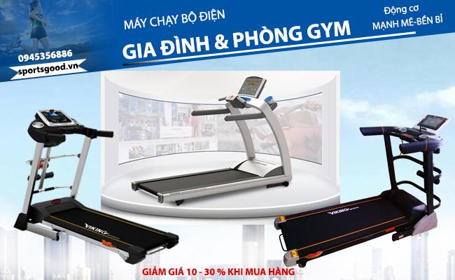 Máy chạy bộ điện gia đình và phòng tập Gym giá rẻ