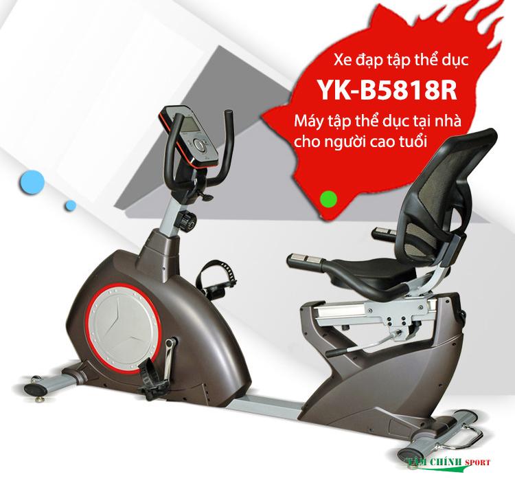 Xe đạp tập thể dục YK-B5818R cho người già giá rẻ