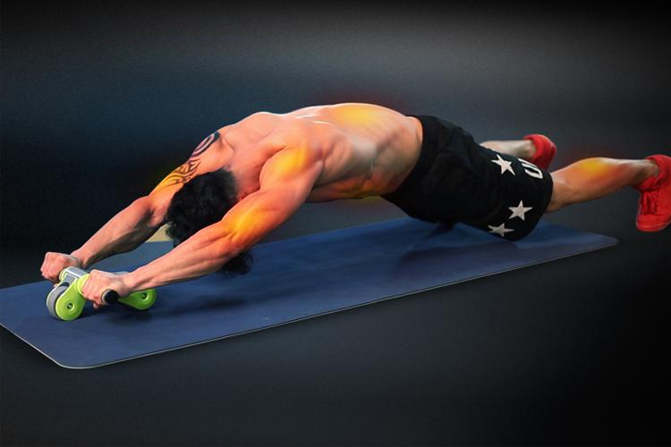 Tác dụng tập luyện của con lăn tập bụng Gym Roller