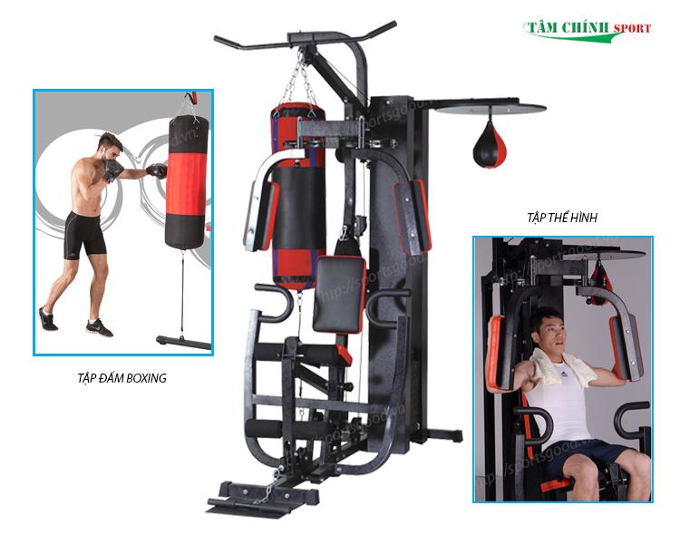 Tập luyện thể hình hiệu quả với giàn tạ đa năng MHG-3001C-1