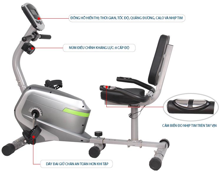 Xe đạp tập thể dục Y01007R giá rẻ