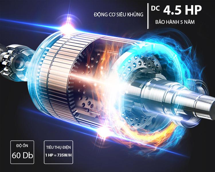Động cơ máy chạy bộ điện PF-117D