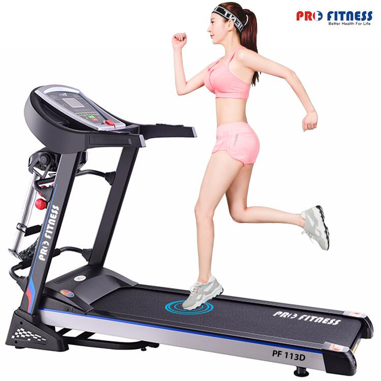 Máy chạy bộ điện Pro Fitness PF-113D chính hãng