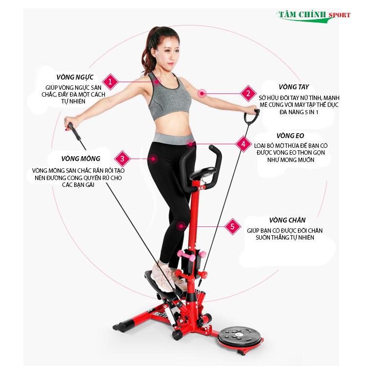 Máy tập thể dục đa năng TT-002 giá rẻ