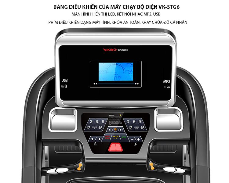 Máy chạy bộ điện Viking Sport VK-STG6