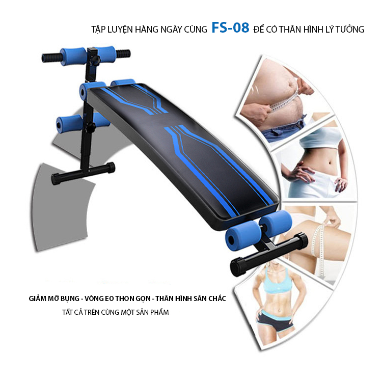 Lợi ích sử dụng của ghế cong tập bụng FS-08