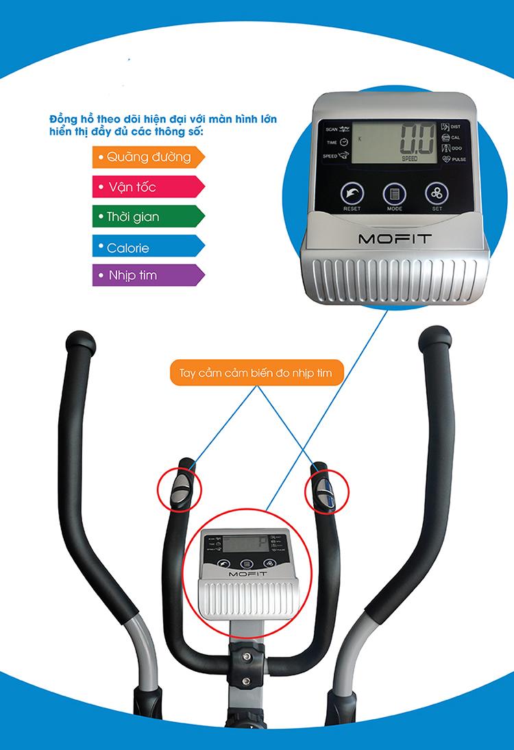 Xe đạp tập thể dục EB03S giá rẻ