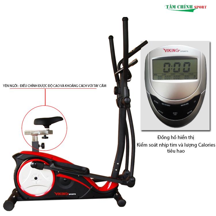 Xe đạp tập thể dục Viking Sport VK-8601HA giá rẻ