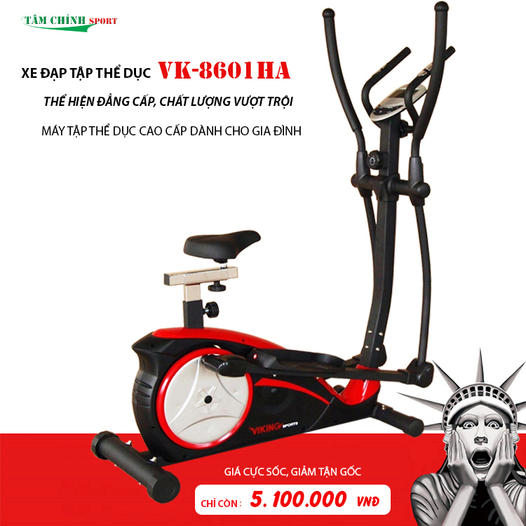 Xe đạp tập thể dục Viking sport VK-8601HA