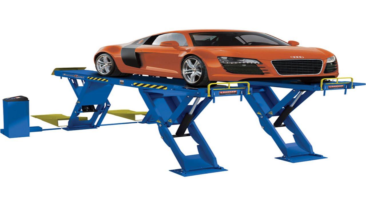 cầu nâng cắt kéo nâng toàn xe