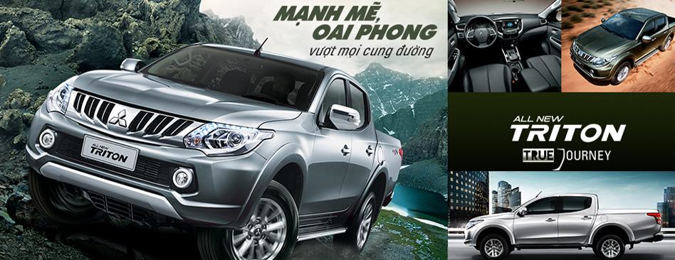 Mitsubishi Triton - bán tải nhập khẩu