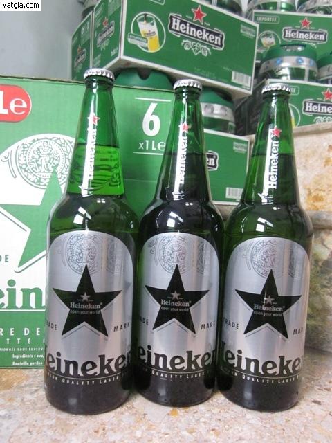 Bia Heineken bom 5 lít, bia heineken Hà lan nắp vặn, bia heineken Pháp uống thơm ngon